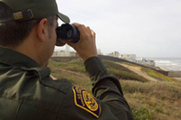 Border Patrol Jobs - BPA Spotting From Truck